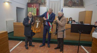 L'ASD MONTECORVINO PUGLIANO PROMOSSA AL CAMPIONATO DI SECONDA CATEGORIA, I COMPLIMENTI DEL SINDACO CHIOLA.