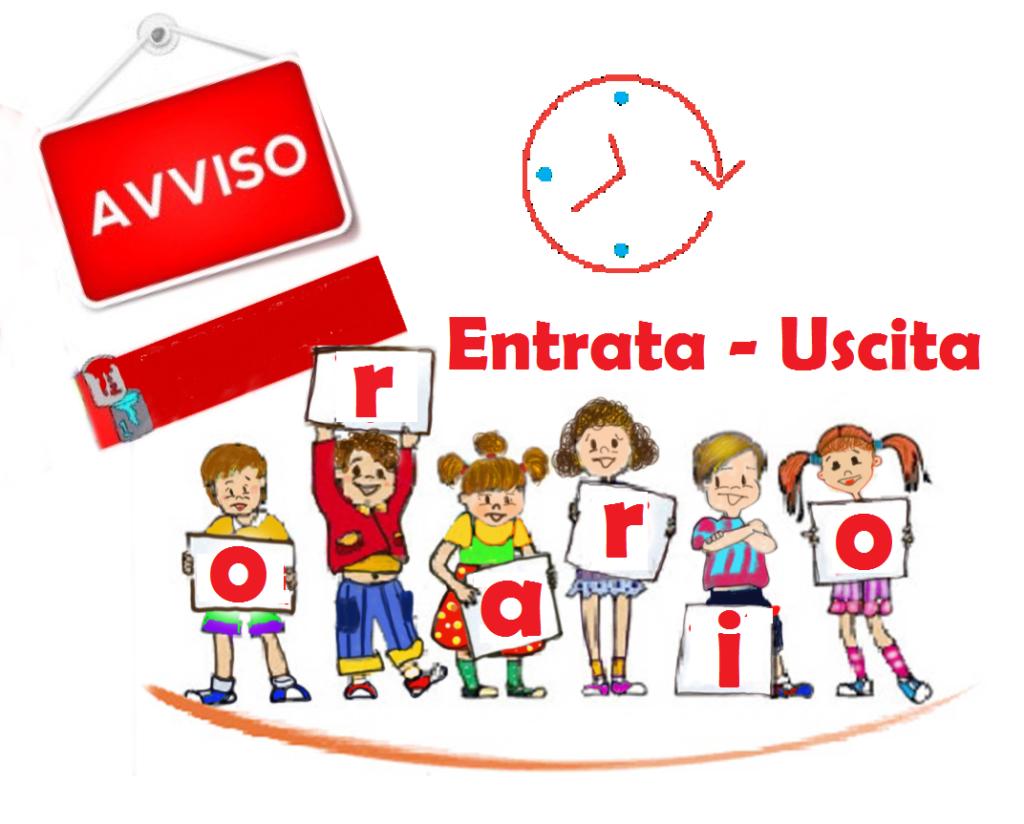 COMUNICAZIONE ORARIO ENTRATA/USCITA CLASSI A PARTIRE DAL 28 SETTEMBRE 2020