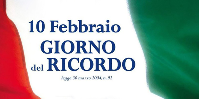 10 FEBBRAIO 2021, GIORNO DEL RICORDO